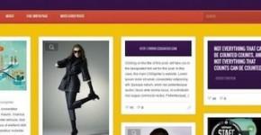 Responsive Pinterest Wordpress Theme - Pintores