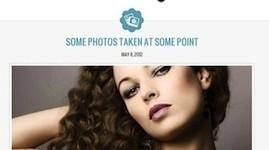 Responsive Minimalistic Tumblr Clone Wordpress Theme - Molly