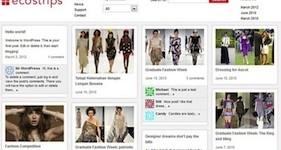 Responsive Pinterest Theme - ecoStrips