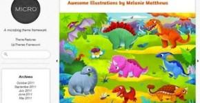 Microblogging Theme - Micro