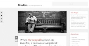 Tumblr-Style Wordpress Theme - Charlton