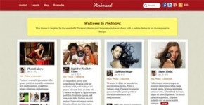 Responsive Pinterest-Inspired Wordpress Theme - Pinboard