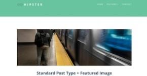 Responsive Tumblog Theme - Hipster