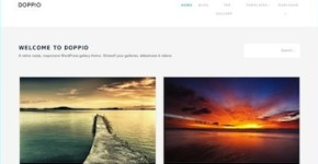 Tumblr Like Wordpress Theme - Doppio