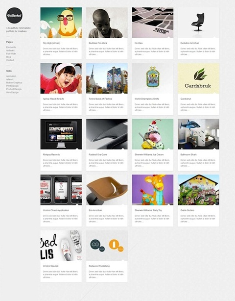 Responsive Tumblr-Styled WordPress Theme - GridLocked